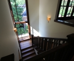 View of the stairwell