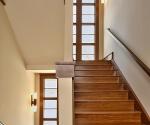 Stairwell window view