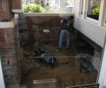 Renovation of the existing front porch