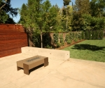 new back patio and privacy fench