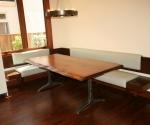 built in informal dining area